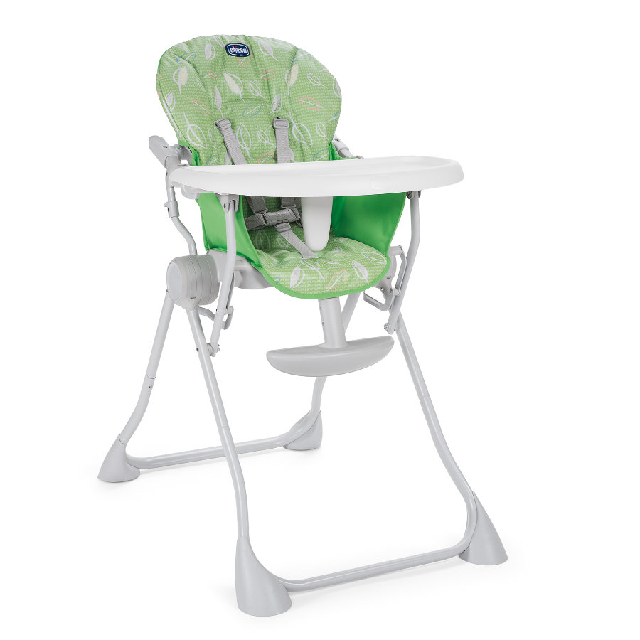 chicco Chaise haute bébé Pocket Meal Summer Green 2019