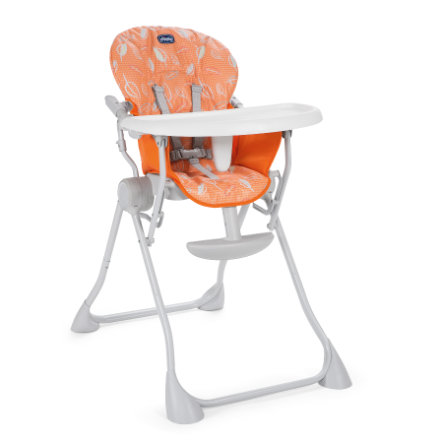 chicco Seggiolone Pocket Meal Happy Orange