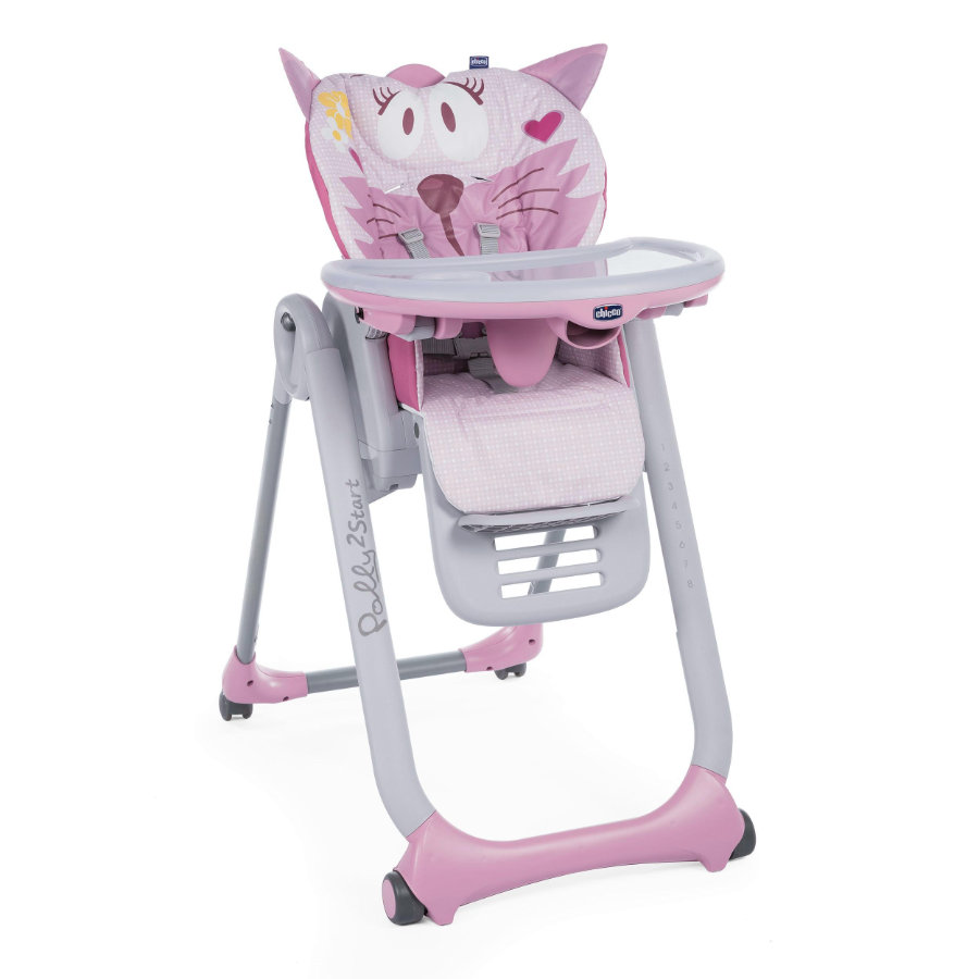 chicco Trona Polly 2 Start Miss fucsia