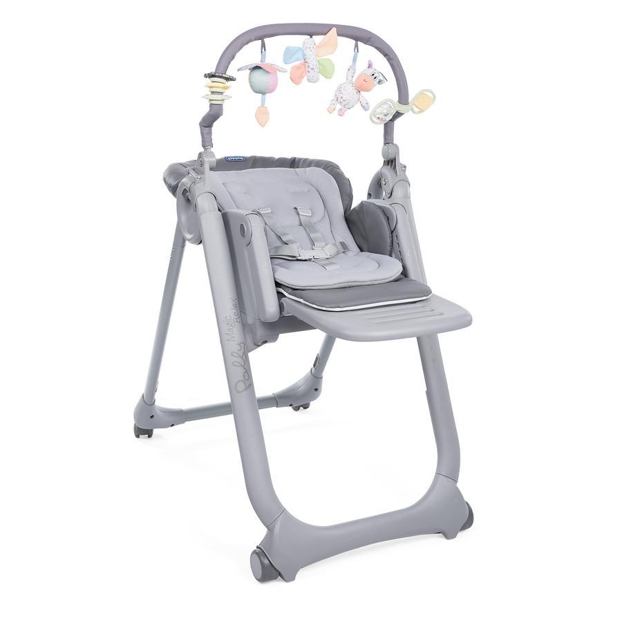 chicco Chaise haute bébé Polly Magic Relax Graphite 2019
