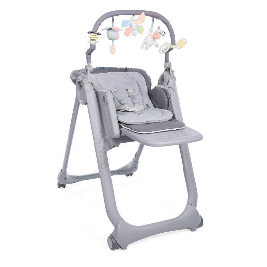 chicco Seggiolone Polly Magic Relax Graphite