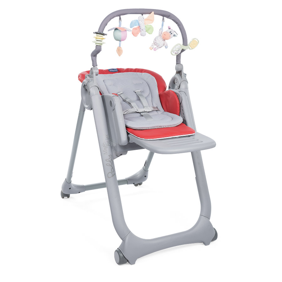 chicco Hochstuhl Polly Magic Relax Scarlet