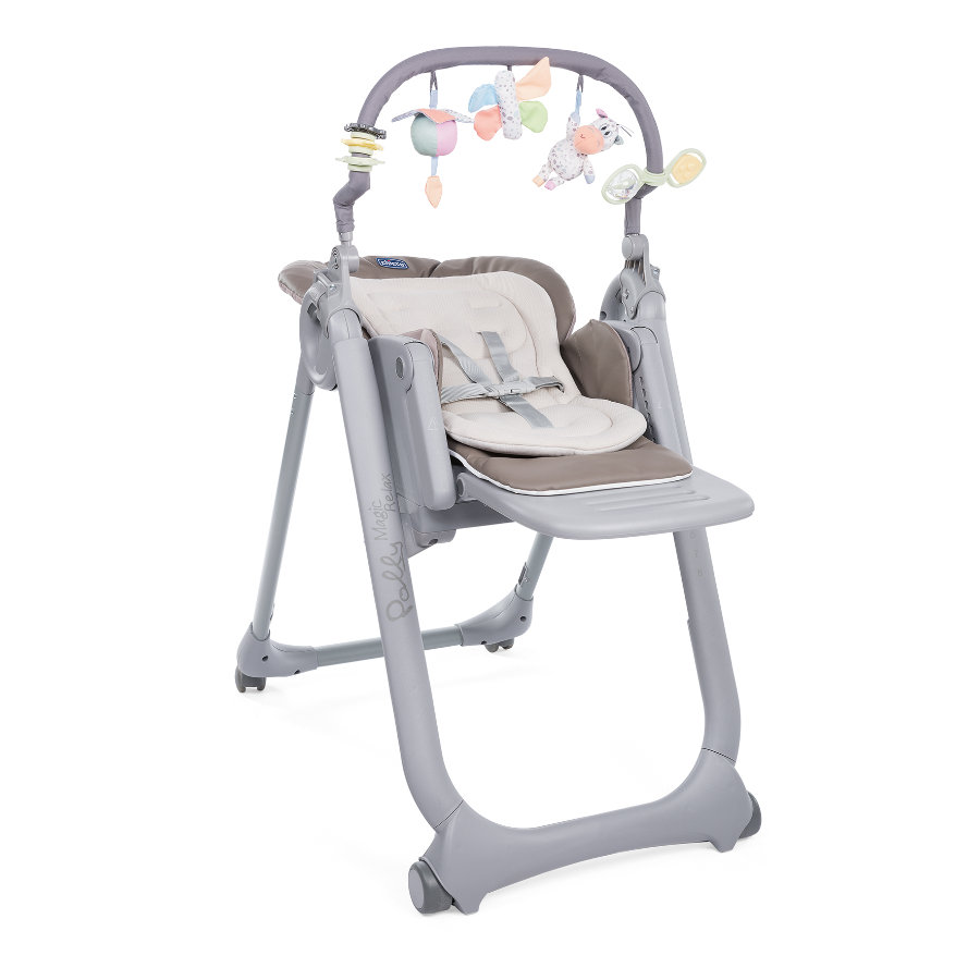 chicco Chaise haute bébé Polly Magic Relax Cocoa 2019
