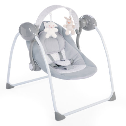 chicco Relax & Play babyvugge cool grey