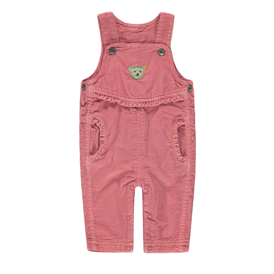 Steiff Girl s Dungarees, roos, roos