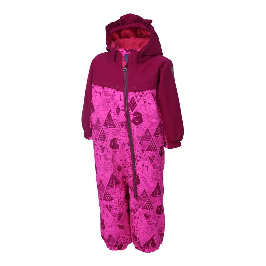COLOR KIDS Snödräkt Dolpa Candy Pink
