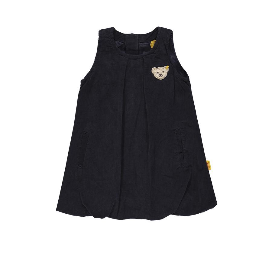 Steiff Girl s sztruksowa sukienka marynarki wojennej.