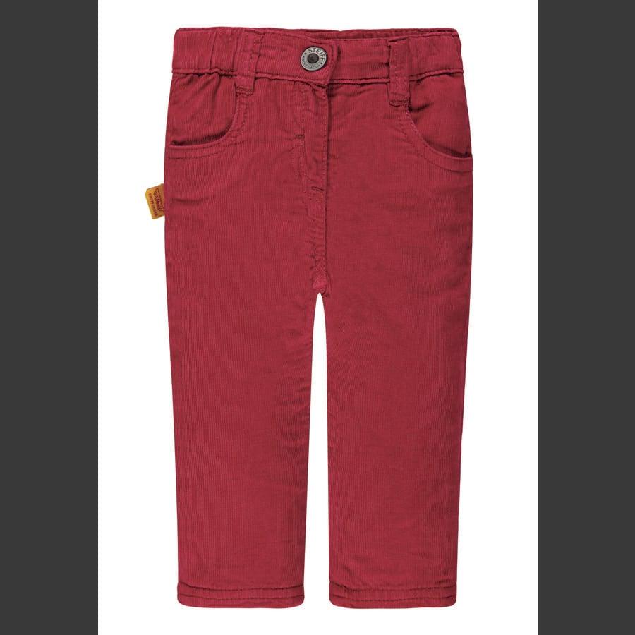 Steiff Girl s Corduroy pants nar rood