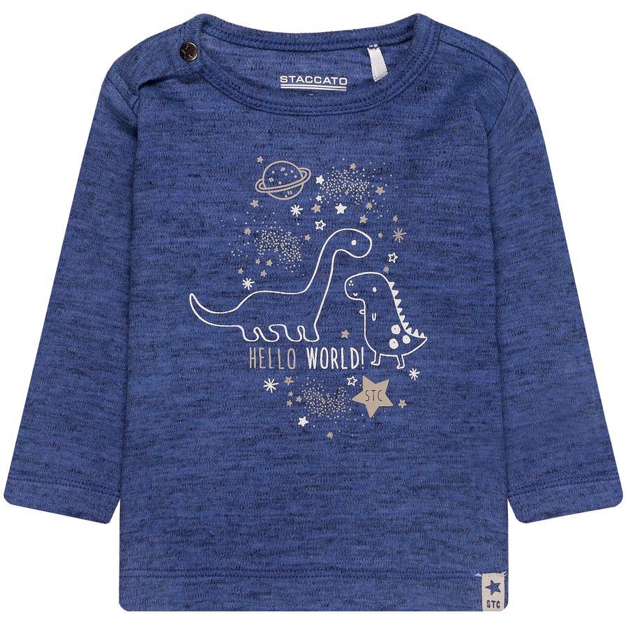 STACCATO  Chlapecké tričko s dlouhým rukávem royal melange