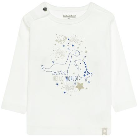 STACCATO  Drenge skjorte off white