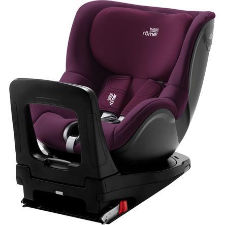 Britax Römer Kindersitz Dualfix M i-Size Burgundy Red