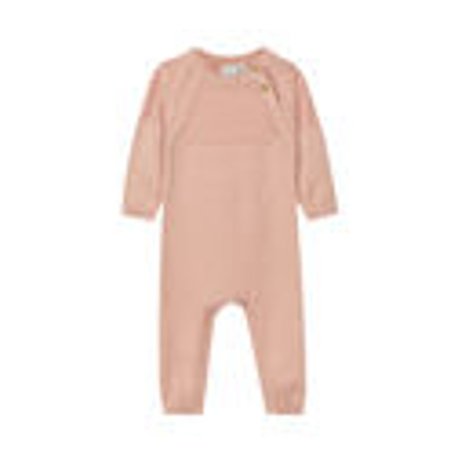 name it Girls Strickoverall Nbfofia rose cloud