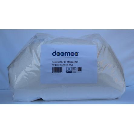 Doomoo-täyttöpussi 10 litran myrkyttömiä mikrohelmiä polybagissa