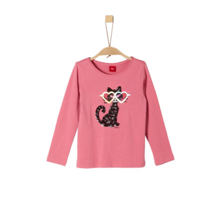 s.Oliver Girls Langarmshirt pink