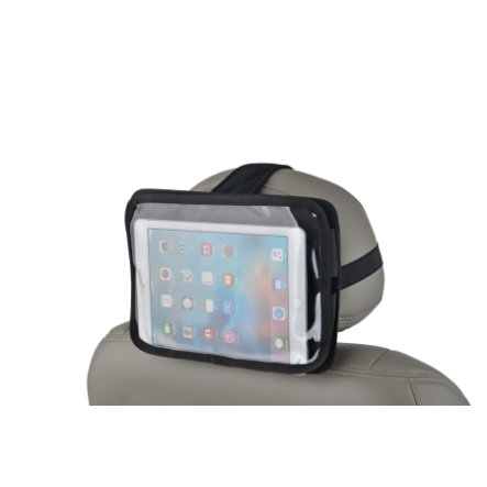 Altabebe Fixation iPad pour cale-tête siège auto noir