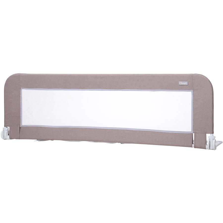 babyGO Barrière de lit Bed Guard mélange beige 150 cm