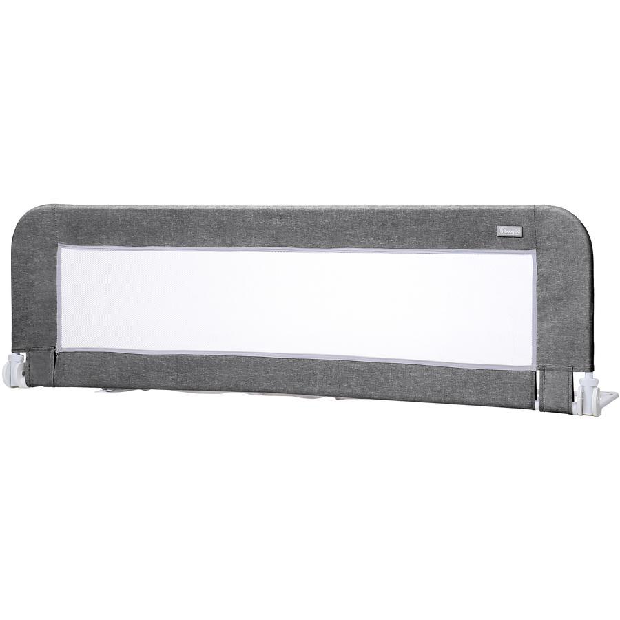 babyGO Sengegitter Bed Guard Antracit Melange 150 cm