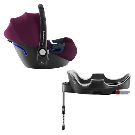 Britax Römer Babyschale Baby-Safe 2 i-Size Burgundy Red inklusive Flex Base