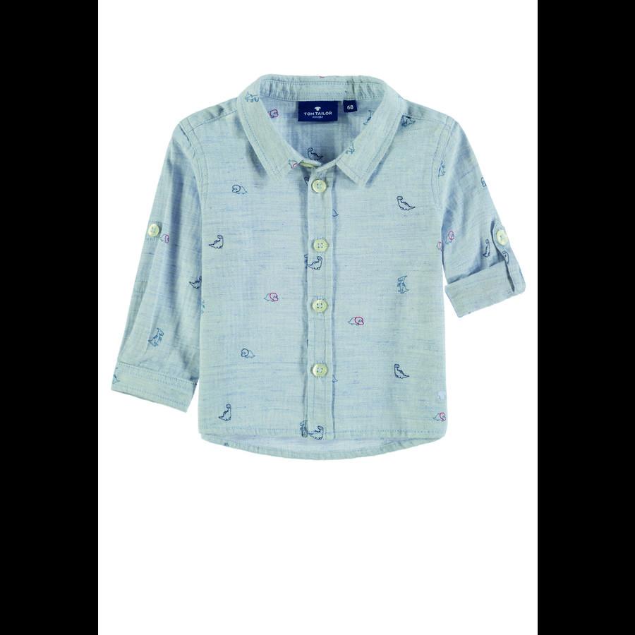 Koszula TOM TAILOR Boys , niebieska.