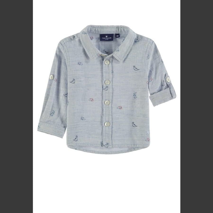 TOM TAILOR boys skjorte, blå