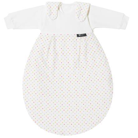 Alvi Baby-Mäxchen® Sovepose  - Original 3 deler  - fargerike punkter, str. 56/62