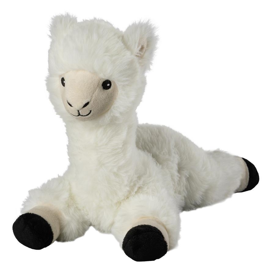 GREENLIFE Peluche bouillotte lama blanc