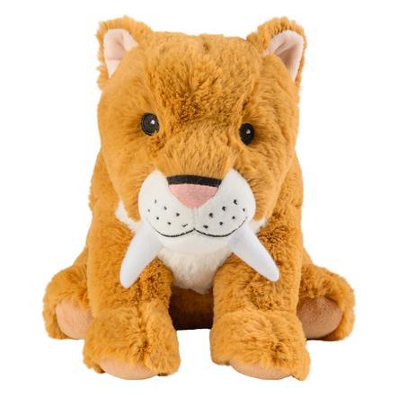 GREENLIFE Peluche bouillotte tigre aux dents de sabre
