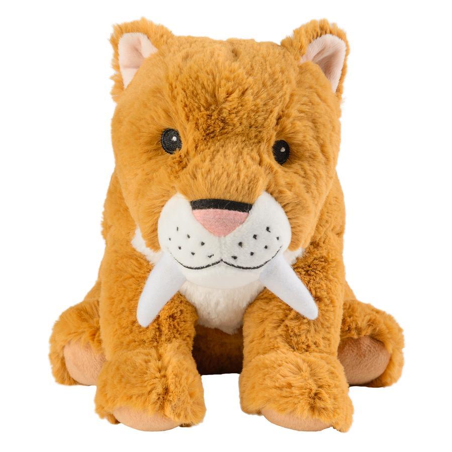 Warmies material térmico animal diente de sable tiger