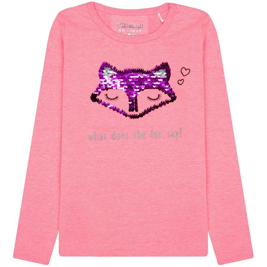 STACCATO Girl s Shirt flitser roze