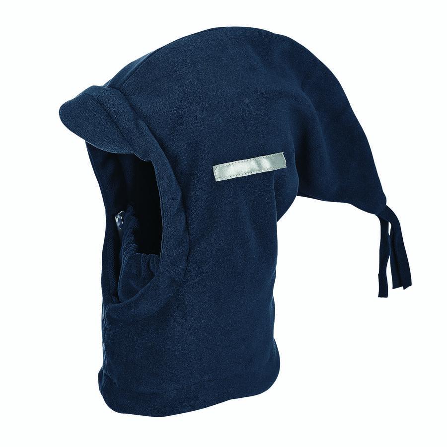 Sterntaler Czapka z chusty Mikropolar czerwony melange