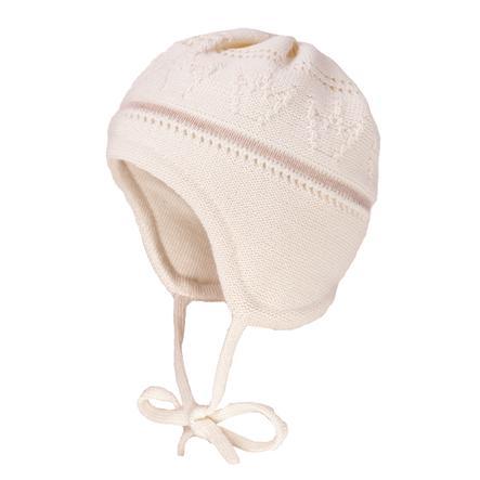 maximo Girl s casquette couronne laine laine livreelange blanc