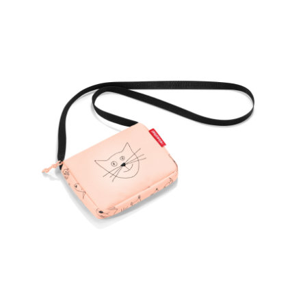 reisenthel® itbag kids cats and dogs rose