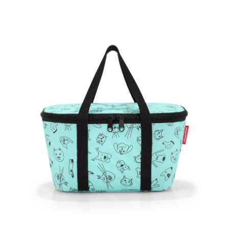 reisenthel® coolerbag XS kids cats and dogs mint