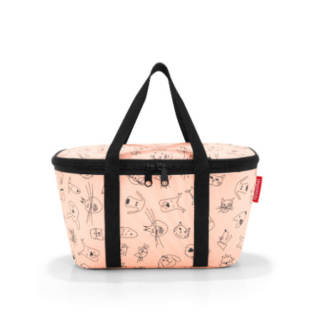 reisenthel coolerbag XS kids cats and dogs rose (koty i psy XS)