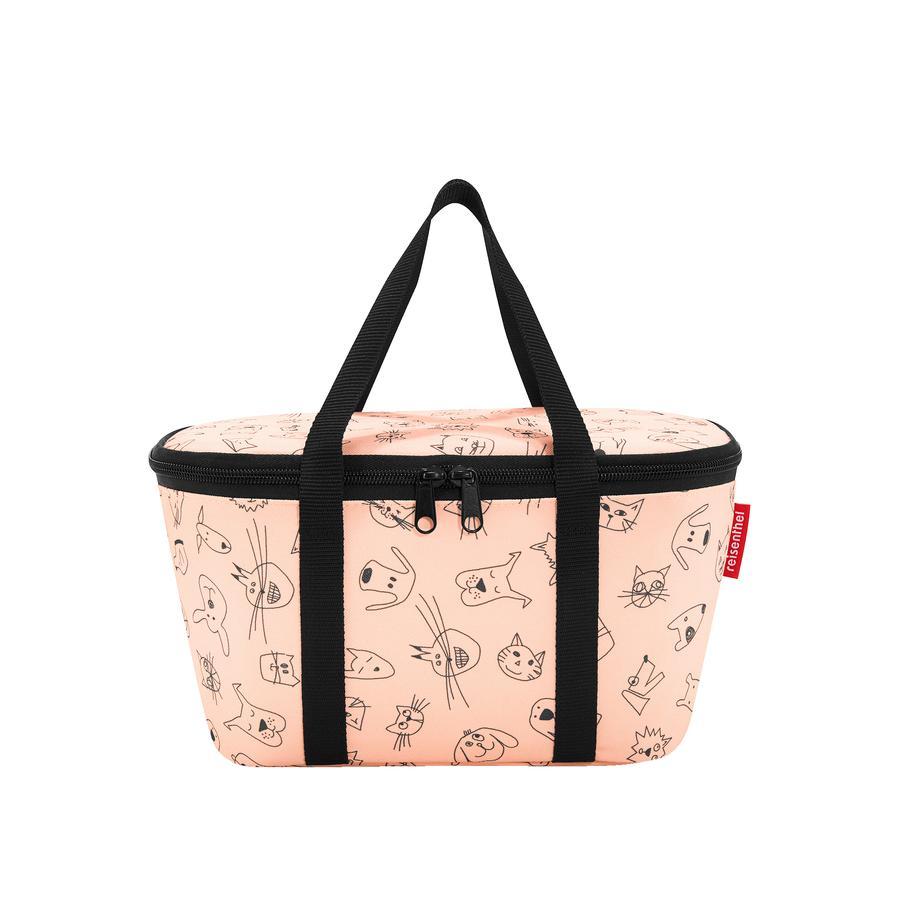 reisenthel coolerbag XS bambini gatti e cani e gatti rosa