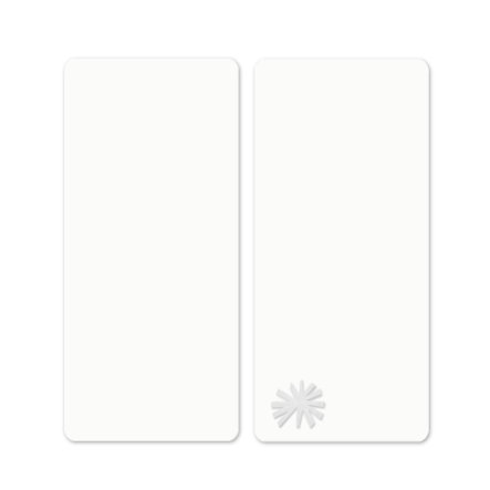 toTs by smarT rike ® - hoeslakens Pure White Flower