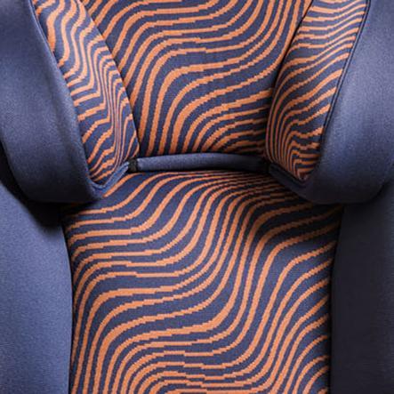 Baier Autostoelhoes Safari blauw/oranje