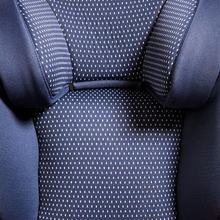 Baier Housse siège auto réversible pois bleu