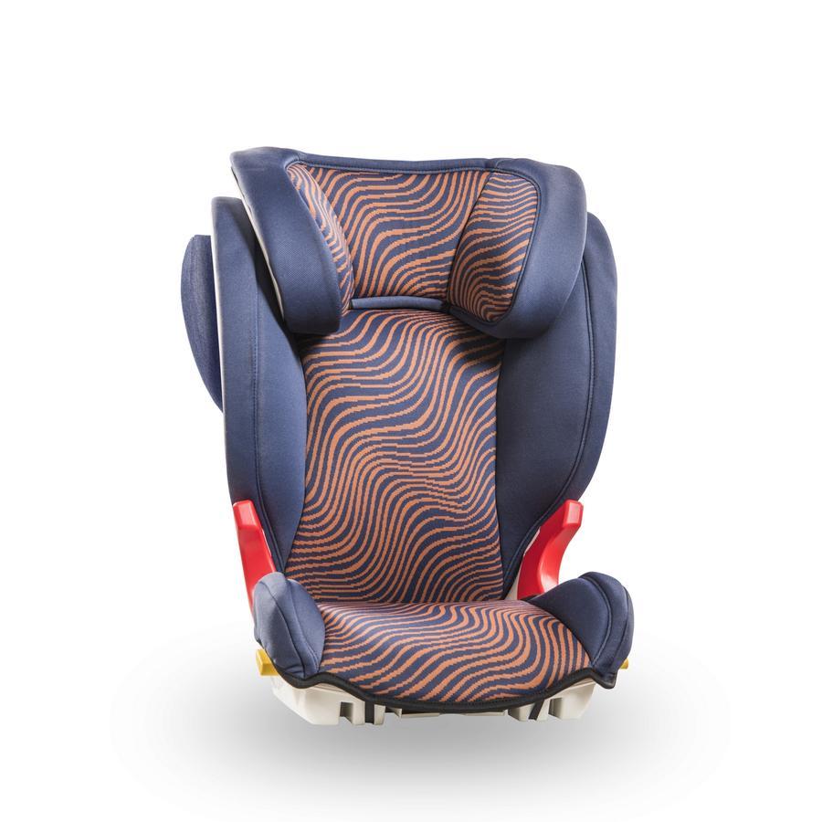 Baier Autostoel Adefix SPi Safari blauw/oranje