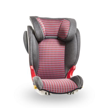 Baier Autostoel Adefix SPi geruit grijs/rood