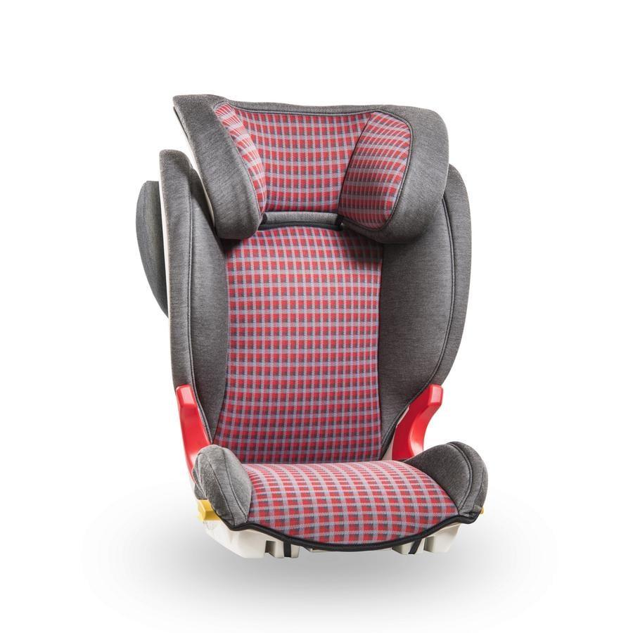 Baier Kindersitz Adefix SPi Karo grau/rot