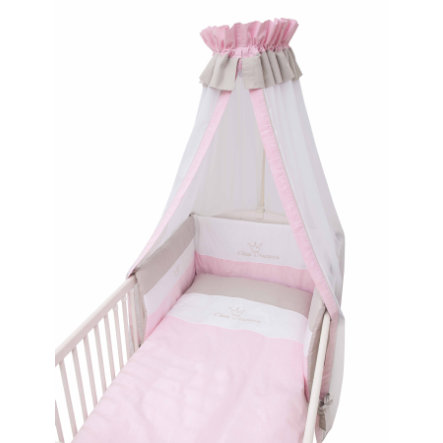 Be Be 's Collection Set biancheria 3 pezzi  Piccola principessa rosa