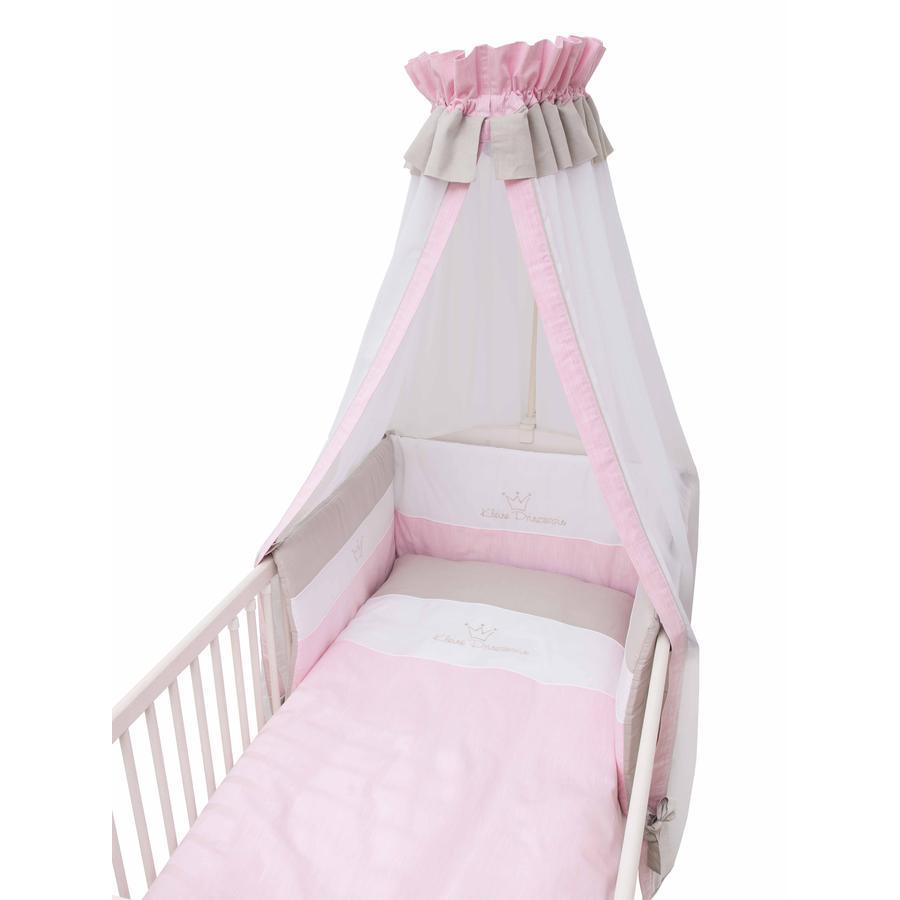 Be Be 's Collection Bäddset 3 delar  Liten prinsessa, rosa