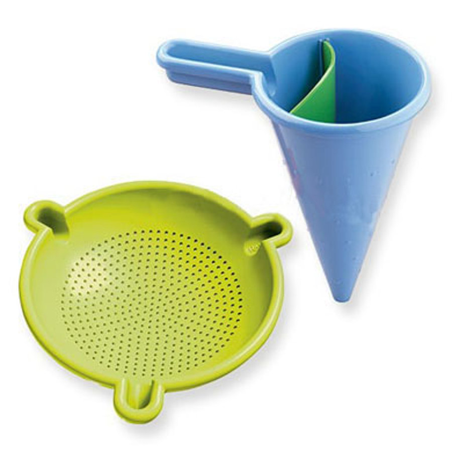 HABA Spilling funnel with sieve