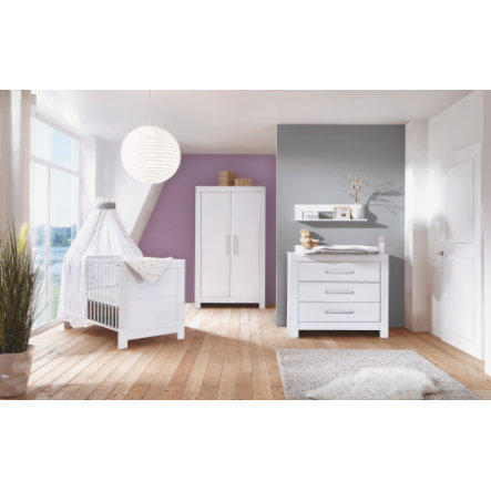 Schardt Chambre d'enfant Nordic White, armoire 2 portes
