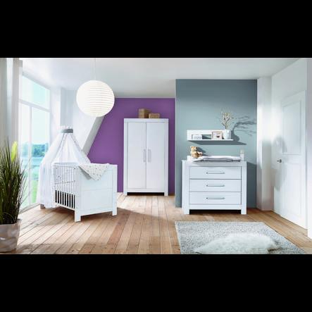 Schardt dětský pokoj Nordic White 2-dveřový