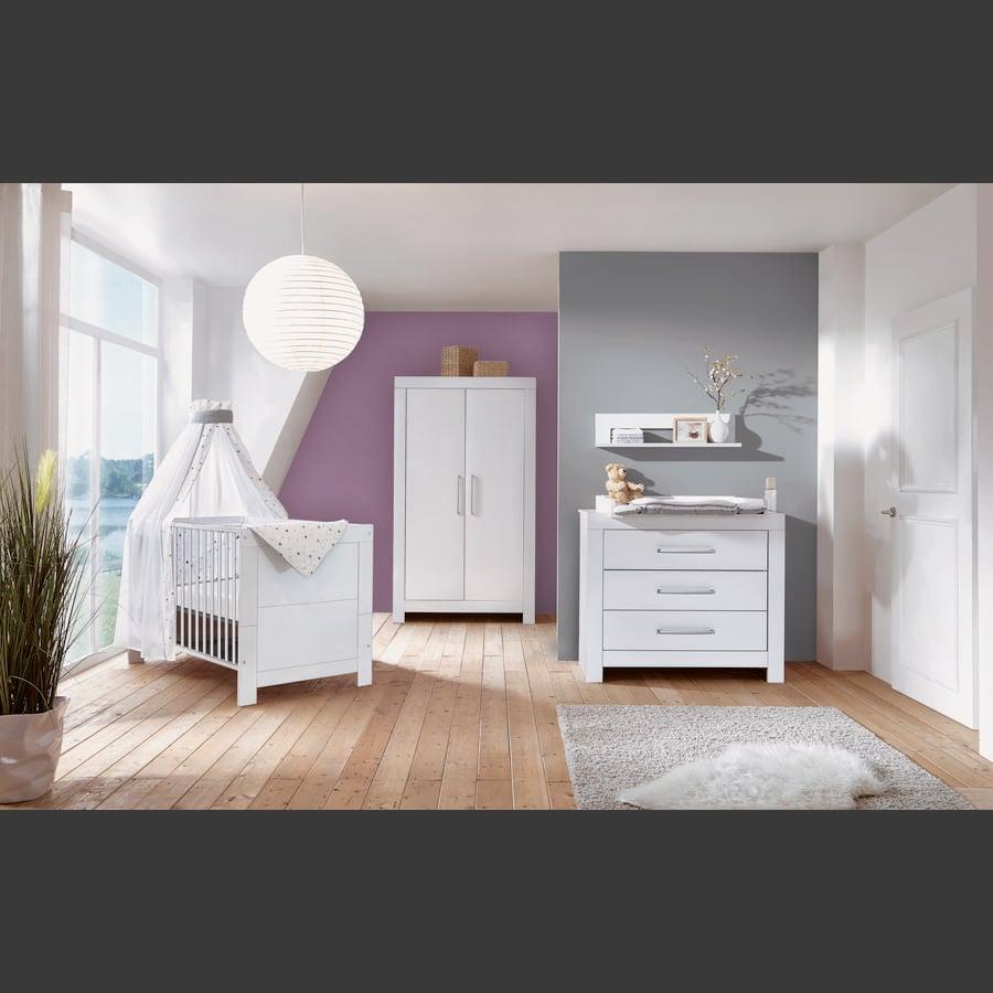 Schardt Børneværelse Nordic White 2-døre