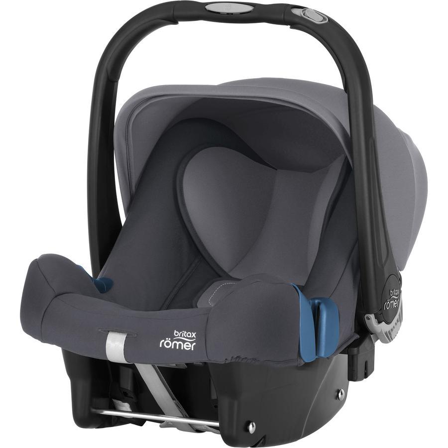 Britax Römer Portabebés Baby-Safe plus SHR II Storm grey, gris