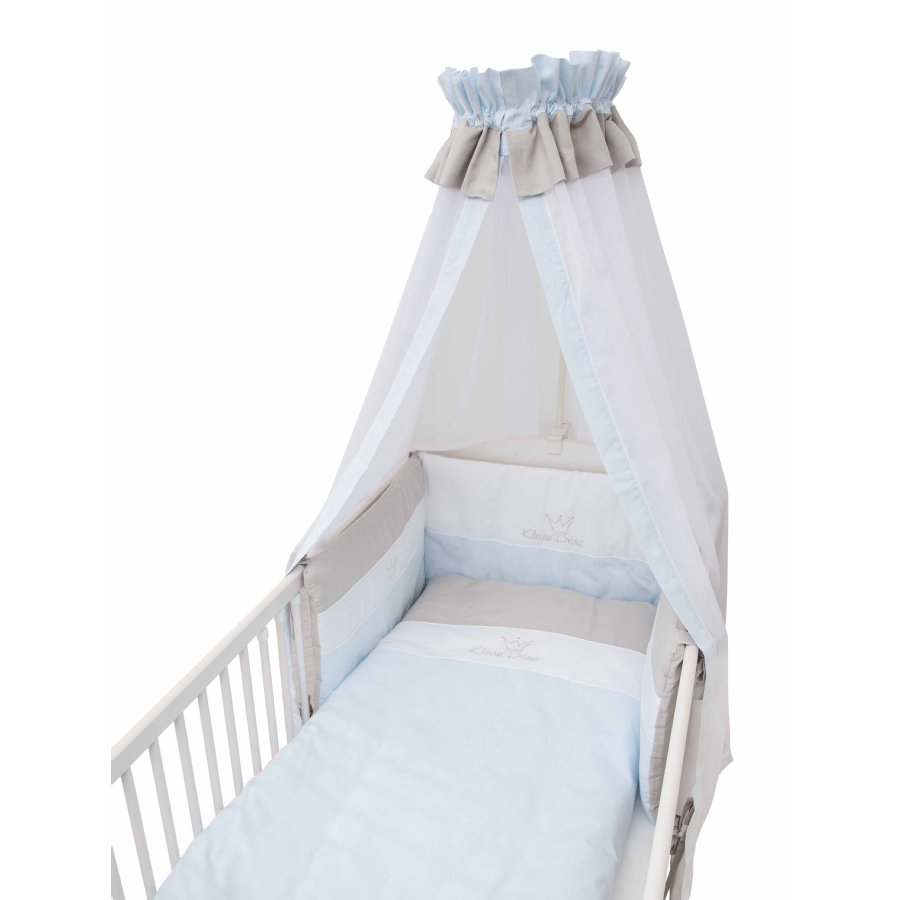 BeBes Collection Parure de lit enfant petit prince bleu, 3 pièces