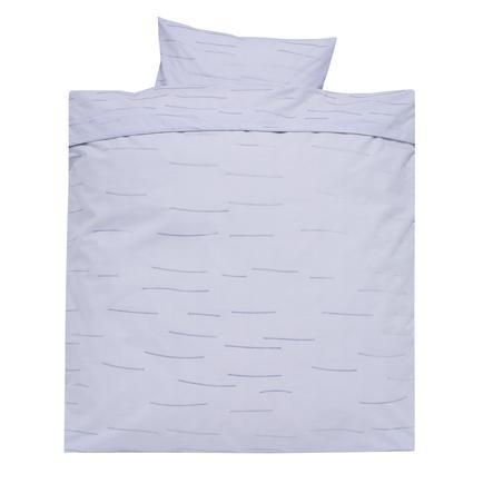 Alvi Ropa de cama 80 x 80 cm, Rayas azul